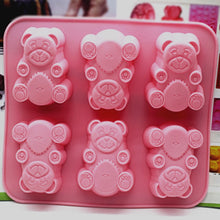 Load image into Gallery viewer, Baby Bear Handmade Soap DIY Soft Silicone Mold