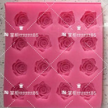 Load image into Gallery viewer, Rose Flower Chocolate Mould Swallow Mould Jelly Mould