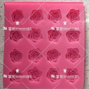 Rose Flower Chocolate Mould Swallow Mould Jelly Mould