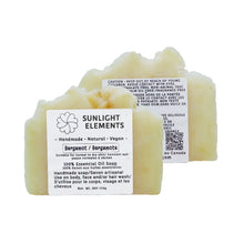Load image into Gallery viewer, Sterilization/Anti-Bacterial Essential Oil Bar Soap-Buddha's hand Bergamot