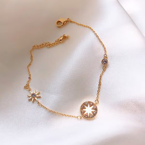 Temperament Elegant / Star bracelet gold