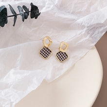 Load image into Gallery viewer, Temperament Elegant / Square Mosaic Geometric Shapes Earrings