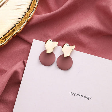 Temperament Elegant / Wild shape elegant earrings