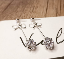 Load image into Gallery viewer, Temperament Elegant / Female sterling silver earrings