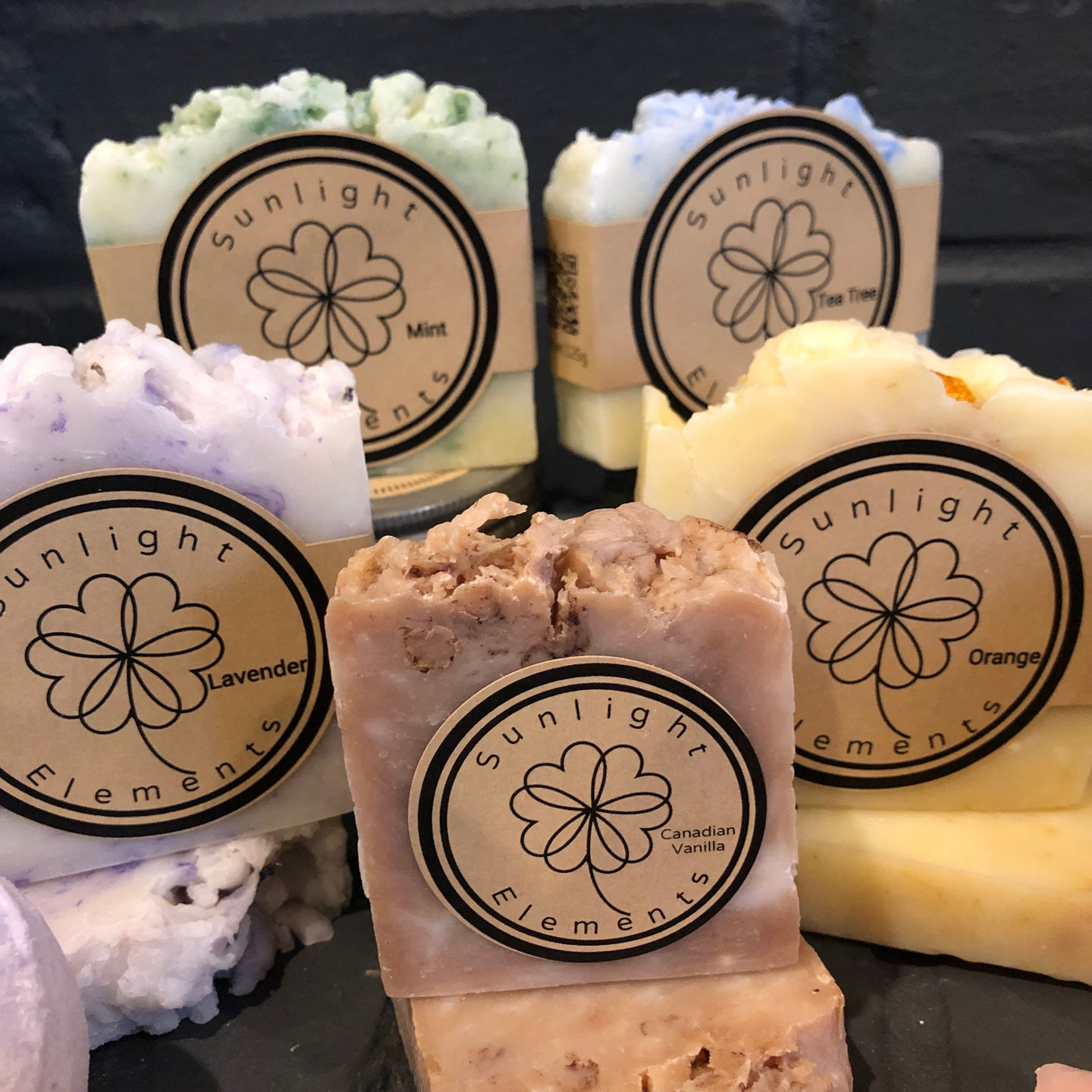 Pure Essential oil Handmade Soap-11 Classic Scents(S)
