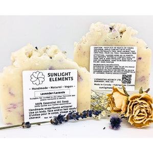 Sterilization/Anti-Bacterial Essential Oil Bar soap-Serene lavender