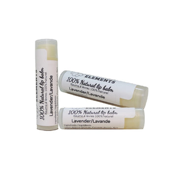 Pure Essential Oil lip balm-Serene lavender plain 8g