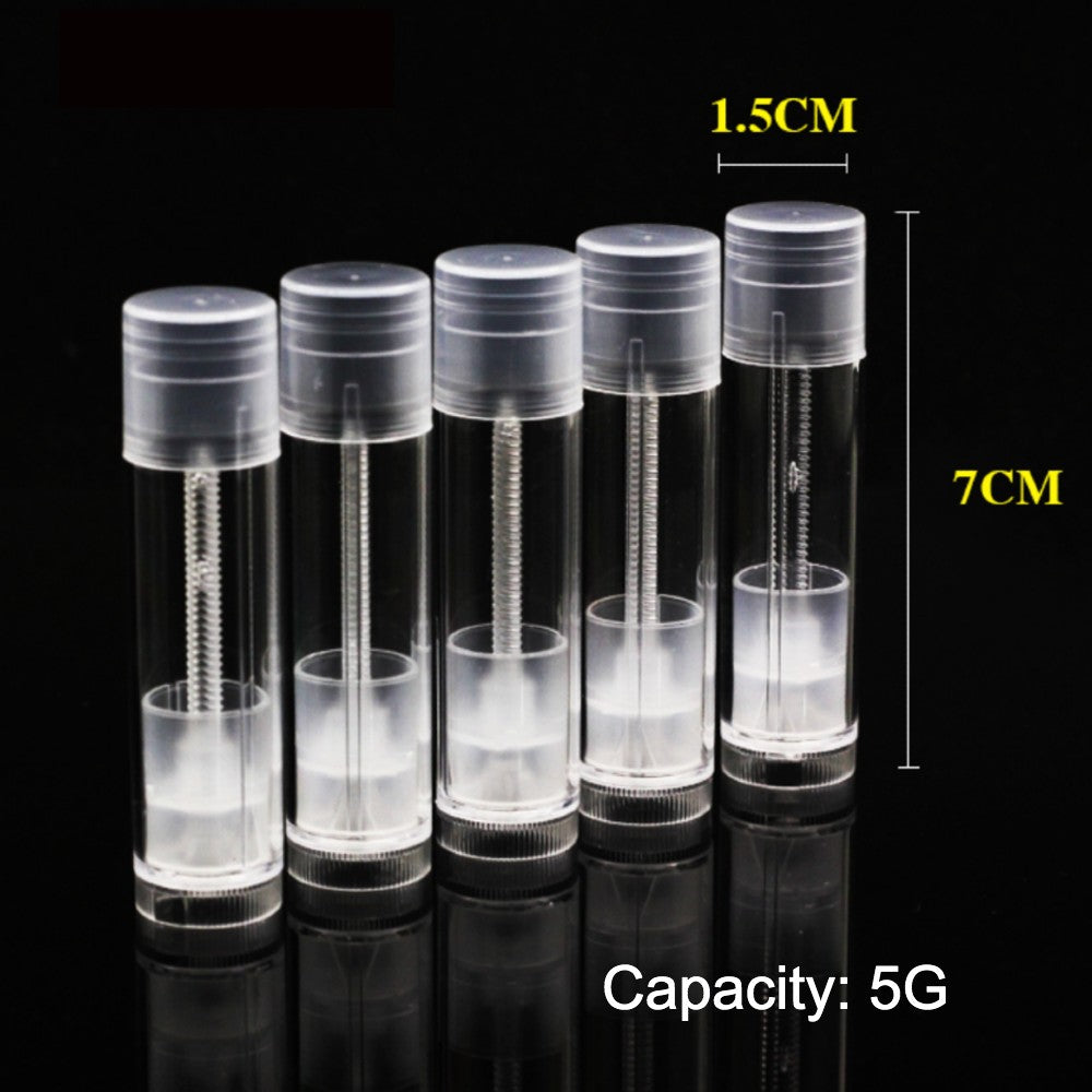 High quality/super transparent Lipstick & Lip-balm Tube empty/Food grade materials/Handcraft Handmade