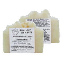 Load image into Gallery viewer, Sterilization/Anti-Bacterial Essential Oil Bar Soap-Sweet Orange