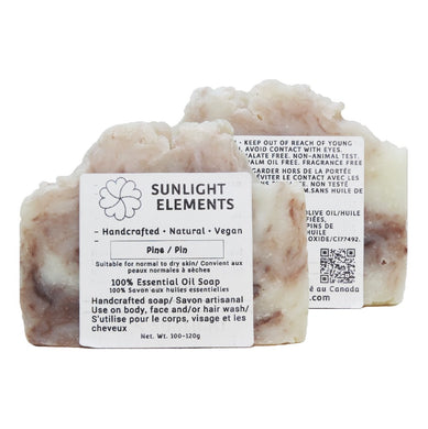 Sterilization/Anti-Bacterial Essential Oil Bar Soap- Pine