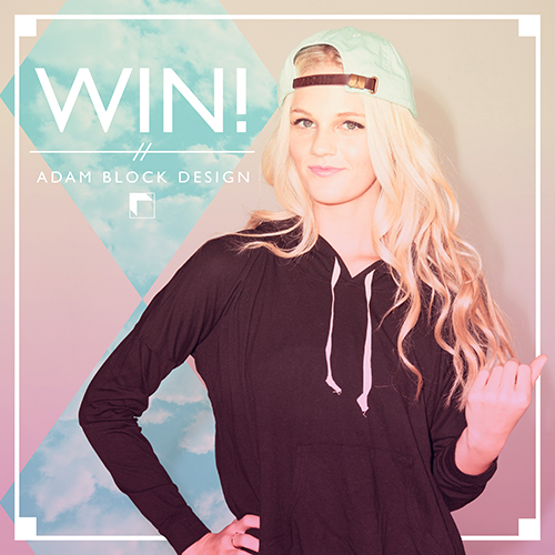 August's Featured Style #Giveaway with  Blanks+ Micro Jersey Pullover Hoody