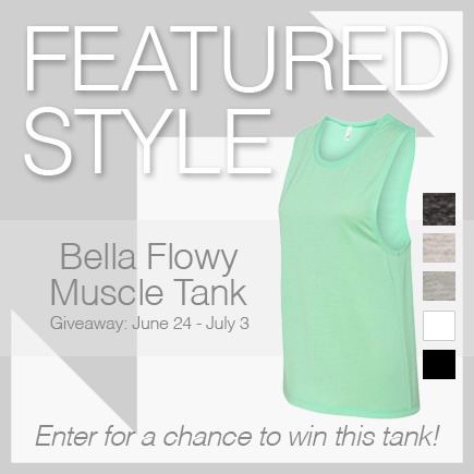 sorority Bella Flowy Muscle Tank