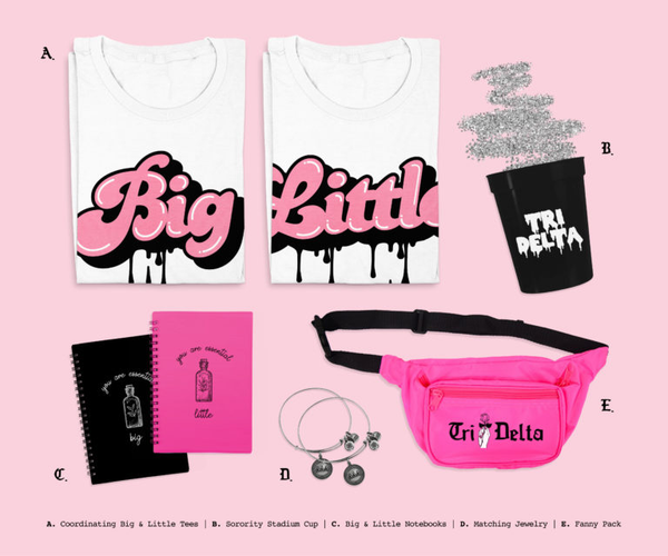 sorority big and little apparel