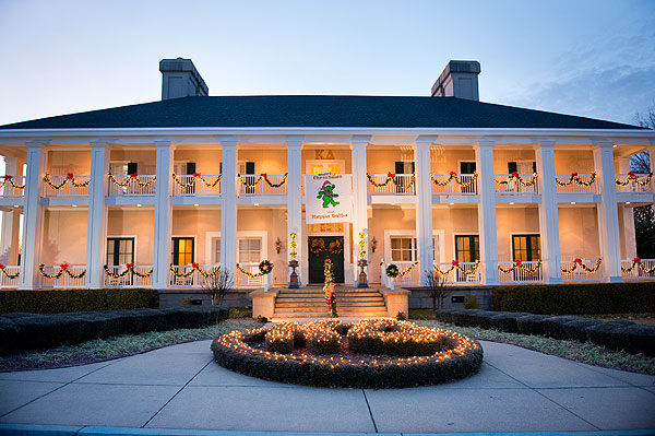 sorority house for the holidays