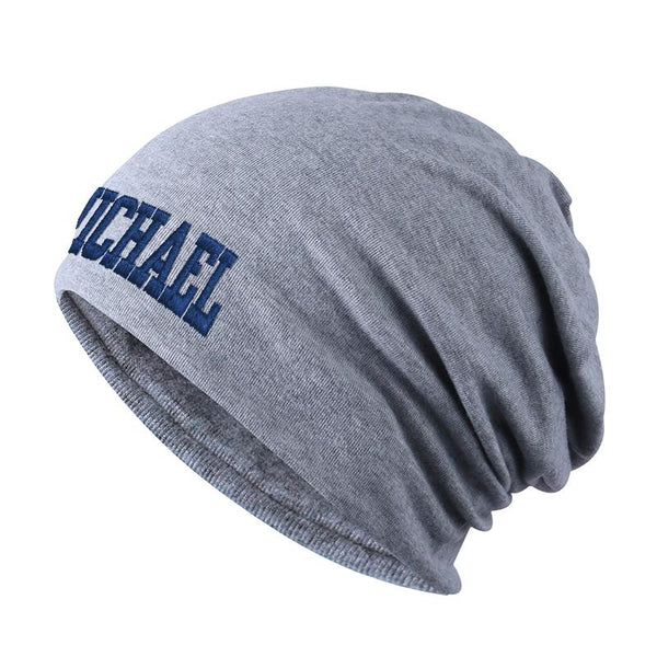 Custom Embroidered Cloth Beanie Hat - Custom Text