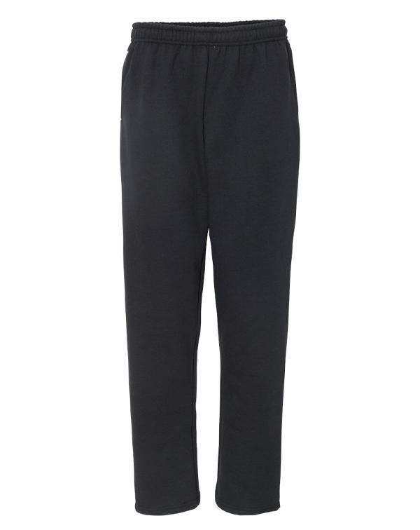 Gildan Open-Bottom Sweatpants with Pockets-blank-Adam Block Design