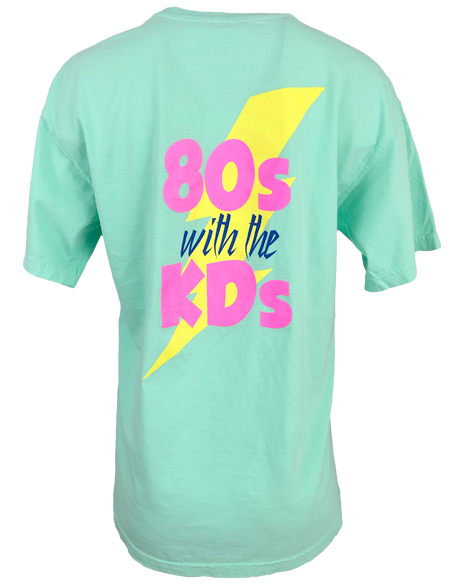 Sample Sale: Kappa Delta 80s With The KD's Tee (M)-Adam Block Design