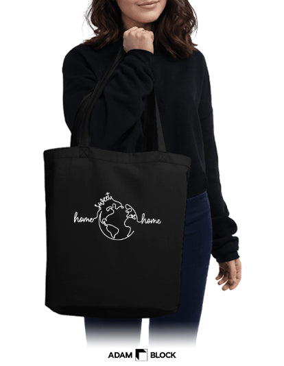 Home Sweet Home Tote-Adam Block Design
