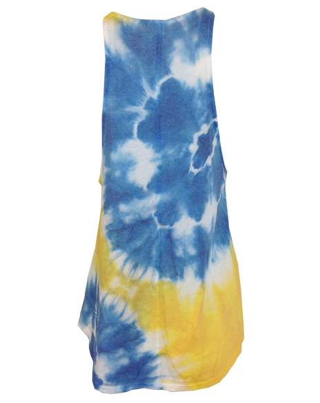 Sample Sale: Gamma Phi Beta High Neck Tie Dye Tank (M)-Adam Block Design