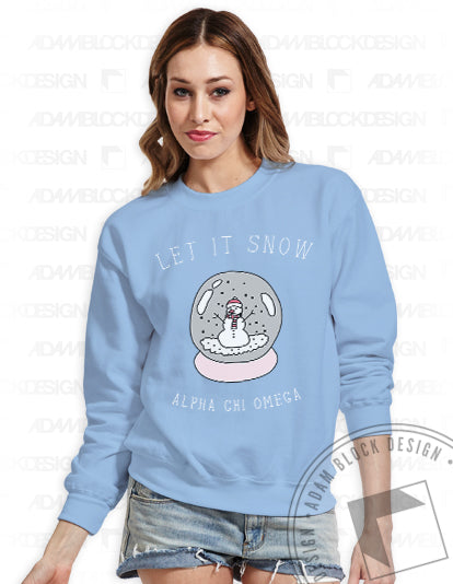 Let It Snow Sweatshirt-Adam Block Design