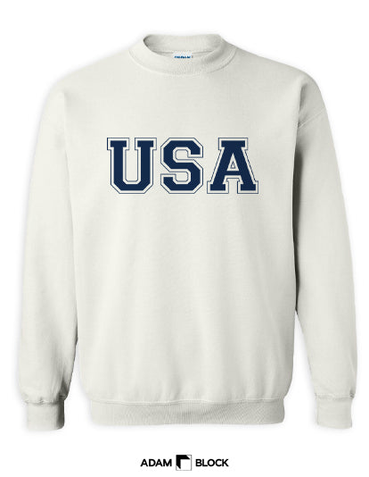 USA Sweatshirt-Adam Block Design