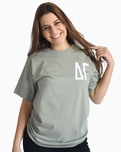 Sample Sale: Delta Gamma Cactus Tee (S)-Adam Block Design