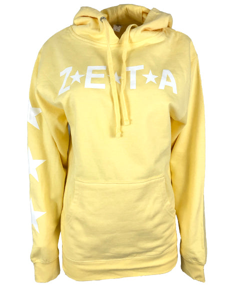 Sample Sale: Zeta Tau Alpha Star Sweatshirt (S)-Adam Block Design