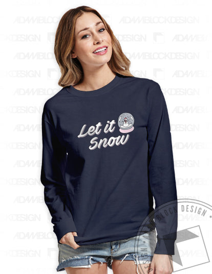 Let It Snow Long Sleeve-Adam Block Design