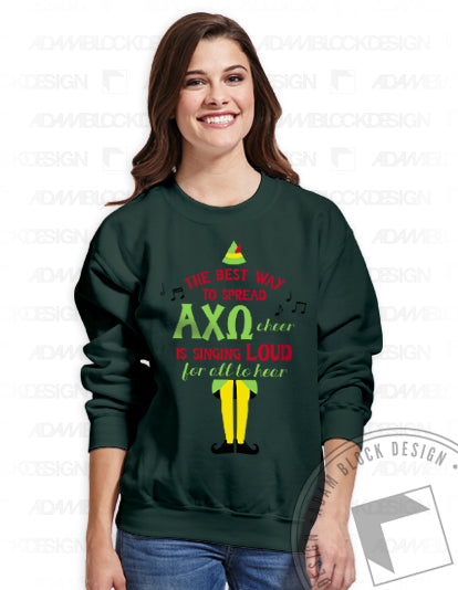 Elf Sweatshirt-Adam Block Design