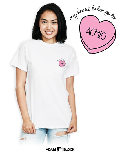 Candy Hearts Tee-Adam Block Design