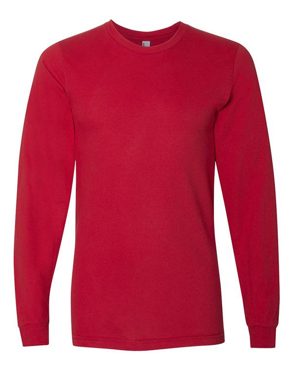 American Apparel Fine Jersey Long Sleeve Tee-Adam Block Design