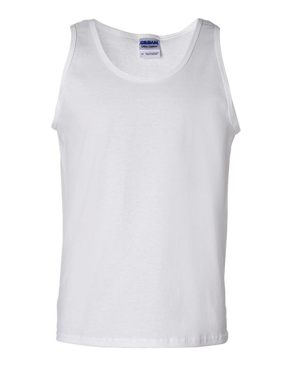 Gildan Ultra Cotton Tank Top-Adam Block Design