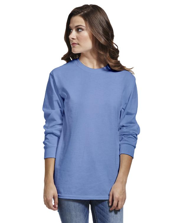 Gildan Ultra Cotton® Long Sleeve Tee-Adam Block Design