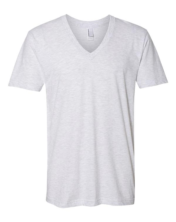 American Apparel Unisex V-Neck-blank-Adam Block Design