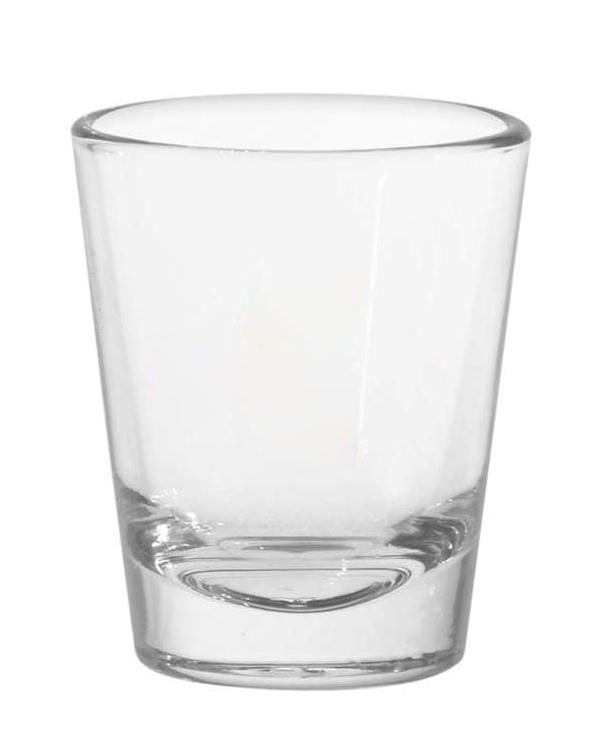 1.5 oz Shot Glass-blank-Adam Block Design