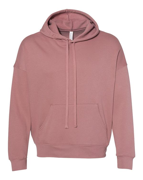 Bella Unisex Sponge Fleece Drop Shoulder Hoodie-blank-Adam Block Design