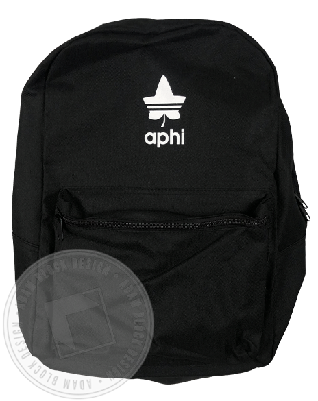 Alpha Phi Ivy Leaf Backpack-gallery-Adam Block Design