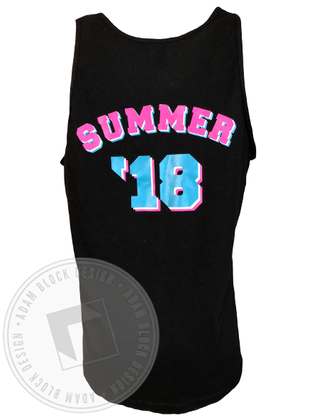 Alpha Epsilon Phi Summer 18 Tank-Adam Block Design