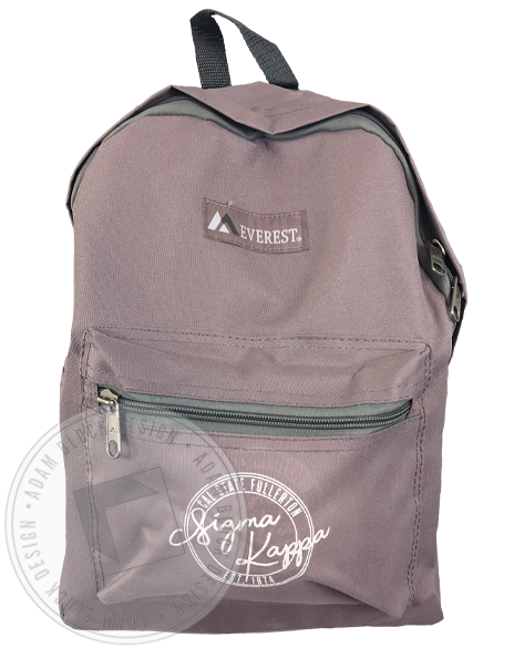 Sigma Kappa Fullerton Backpack-Adam Block Design
