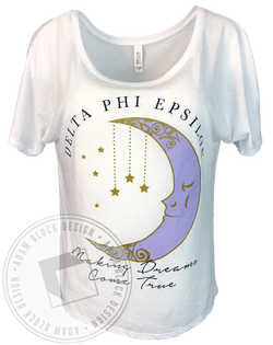 Delta Phi Epsilon Making Dreams Come True T-shirt-Adam Block Design