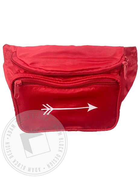 Arrow Fanny Pack-Adam Block Design