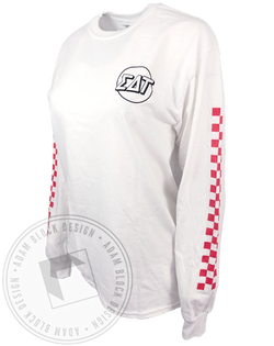 Sigma Delta Tau Racing Long Sleeve-Adam Block Design