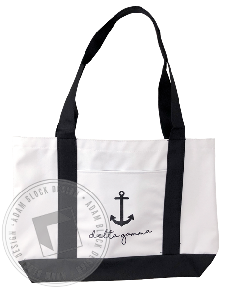 Delta Gamma Anchor Tote-gallery-Adam Block Design