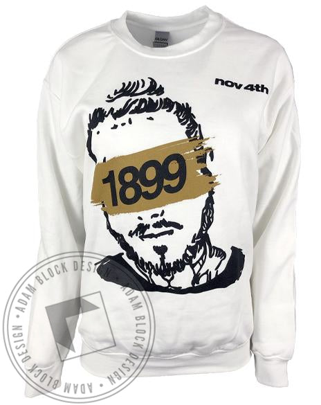 1899 Founders Day Sweatshirt-Adam Block Design