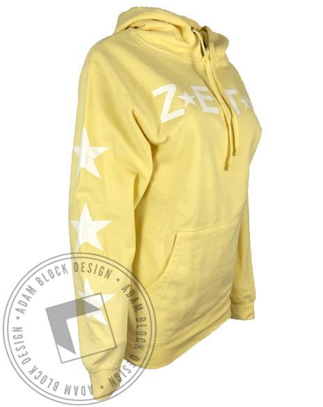 Zeta Tau Alpha Star Hoody-Adam Block Design