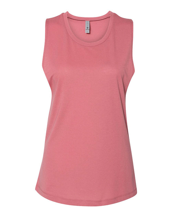 Next Level Women's Festival Muscle Tank-Adam Block Design