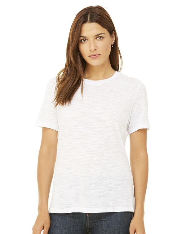 Bella Women's Relaxed Tee-blank-Adam Block Design