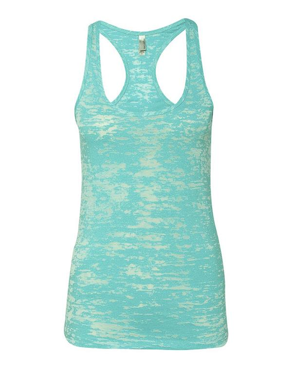 Next Level Women's Burnout Racerback Tank-Adam Block Design