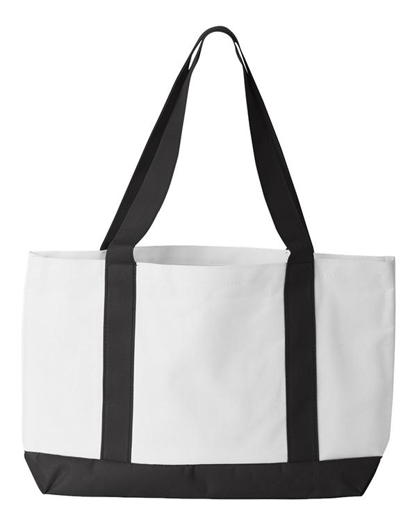 Liberty Bags Cruiser Tote-blank-Adam Block Design