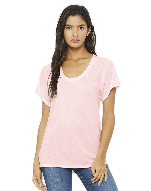 Bella Women's Flowy Raglan Tee-Adam Block Design
